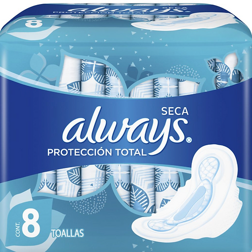 Always Seca Protección Total