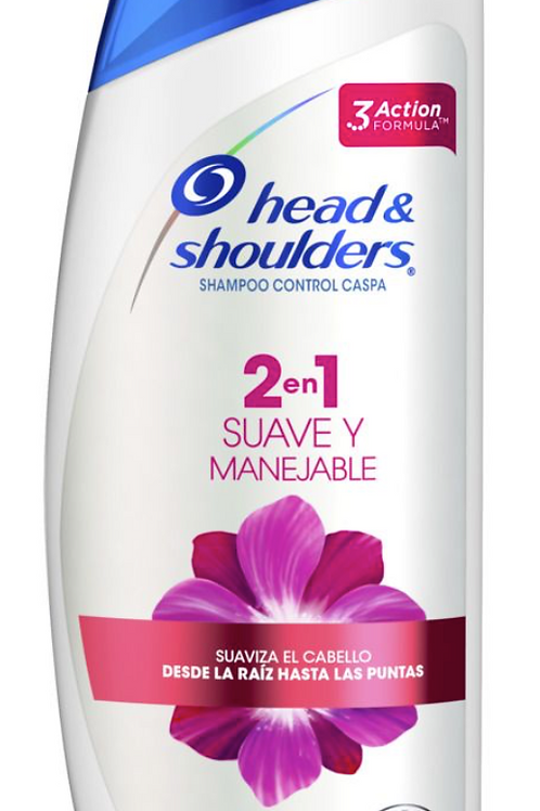 Head & Shoulders Suave y Manejable 2 en 1