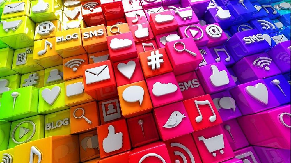 Various Social Media blocks