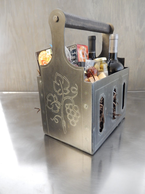 Rustic Wine tote 001