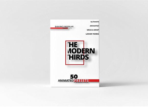 THE MODERN THIRDS