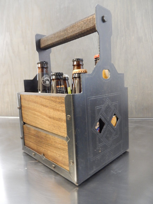 Rustic Beer tote 001