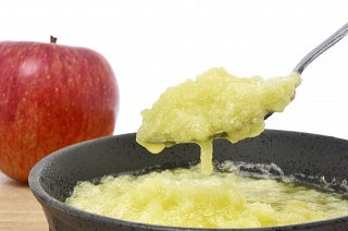 温めた林檎は栄養価がアップする