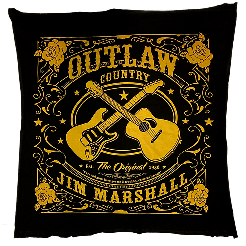 Jim Marshall's Outlaw Country Bandana