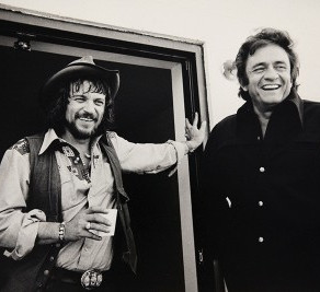 Waylon Jennings & Johnny Cash