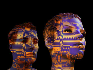 Technology evolves and humanity regresses