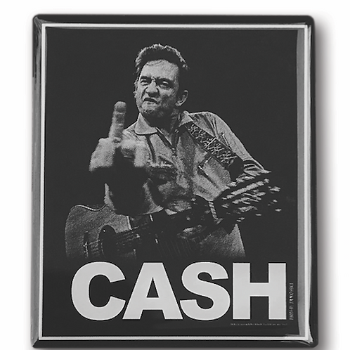 Johnny Cash Bird Hat Pin