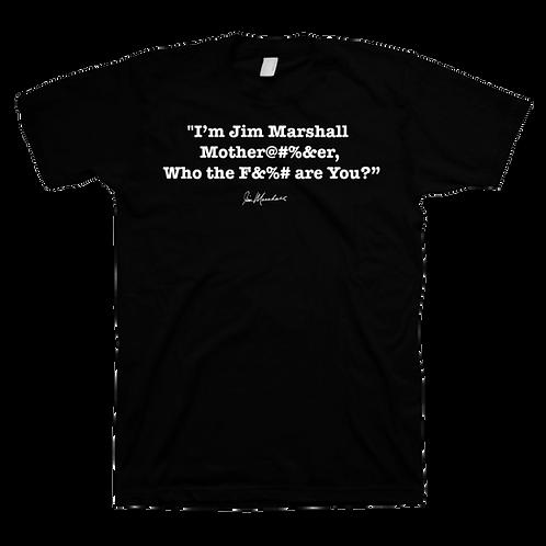 I'm Jim Marshall