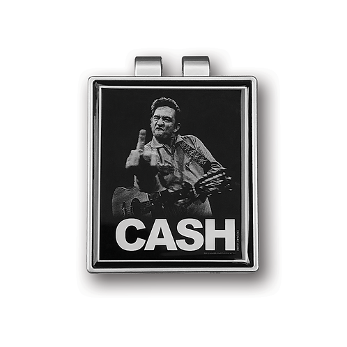 Johnny Cash Bird Money Clip