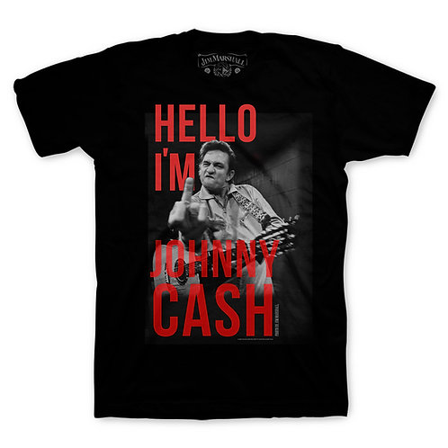 Johnny Cash Hello My Name Is