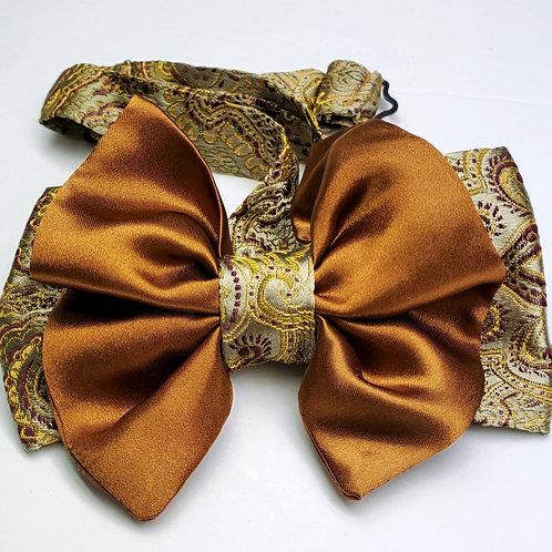 Bow Tie - Fancy Copper & Gold