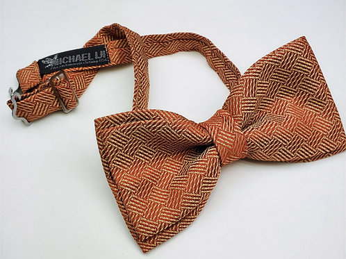 Bow Tie - Bronze Shimmer