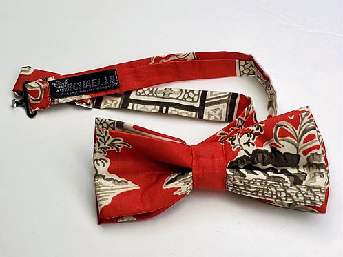 Bow tie - Rustic Red Tapestry