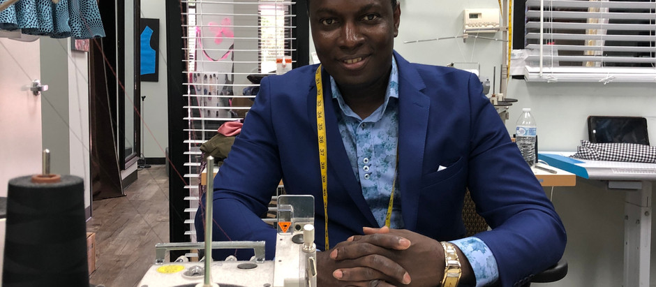 High Fashion Menswear Designer, MICHAEL IJI, on Being Extra for his Clients