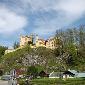 Мюнхен - Фюссен - Нойшванштайн - Гармиш-Партенкирхен - Цугшпитце - Зальцбург