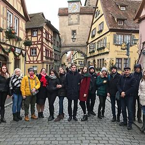 Мюнхен - Ротенбург-об-дер-Таубер - замок Нойшванштайн - Зальцбург