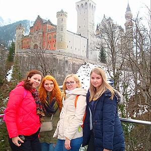Мюнхен - замок Нойшванштайн - Ротенбург на Таубере - Зальцбург