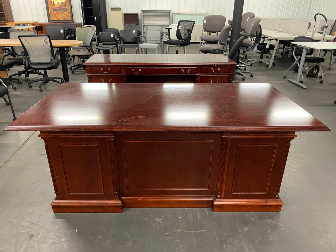 Keswick Desk/Credenza Set