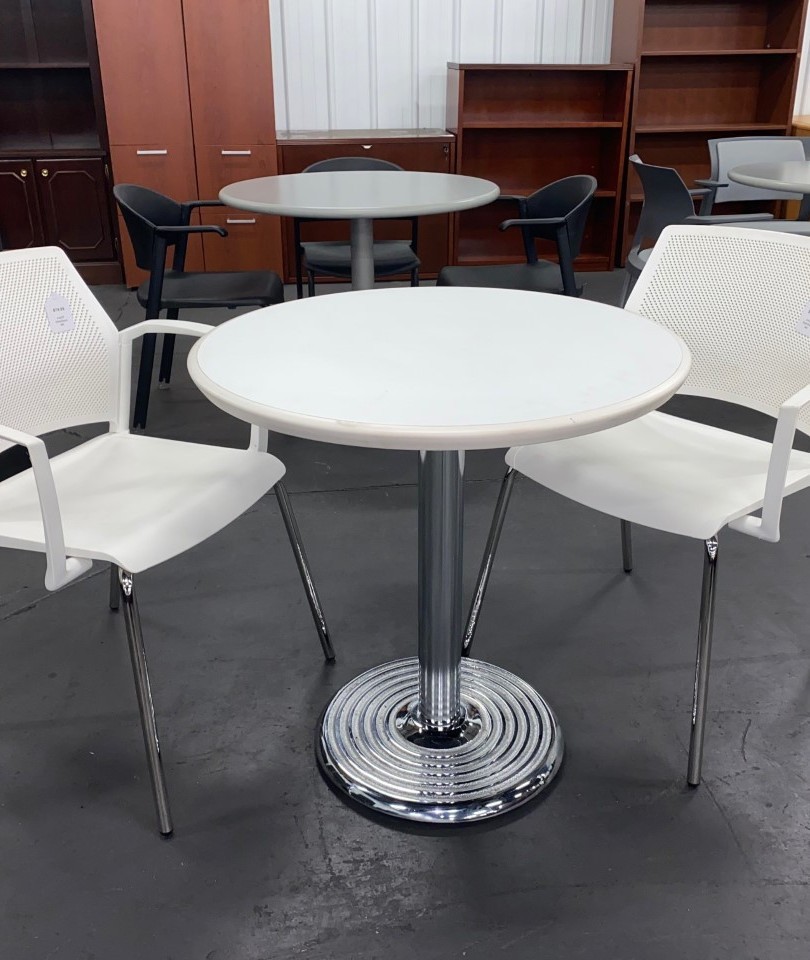 """36"""" Cafe Table w/ Chairs"""