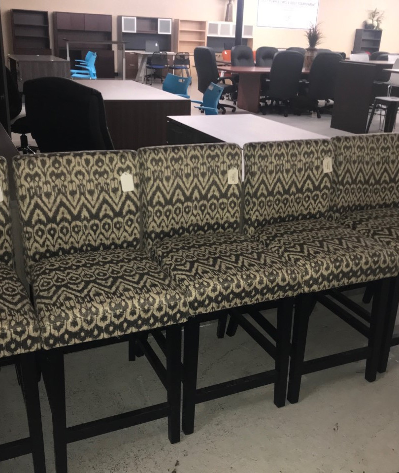 Upholstered Counter Height