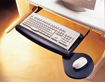 keyboard pencil tray