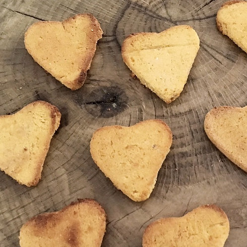 Grain Free- Coconut & Peanut Butter Hearts