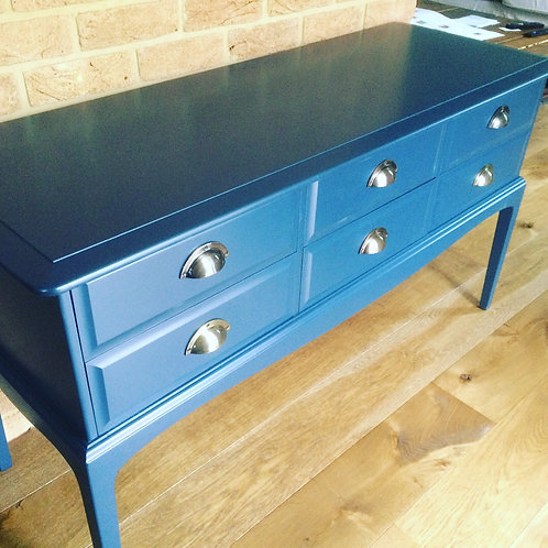 6 drawer side table/dressing table