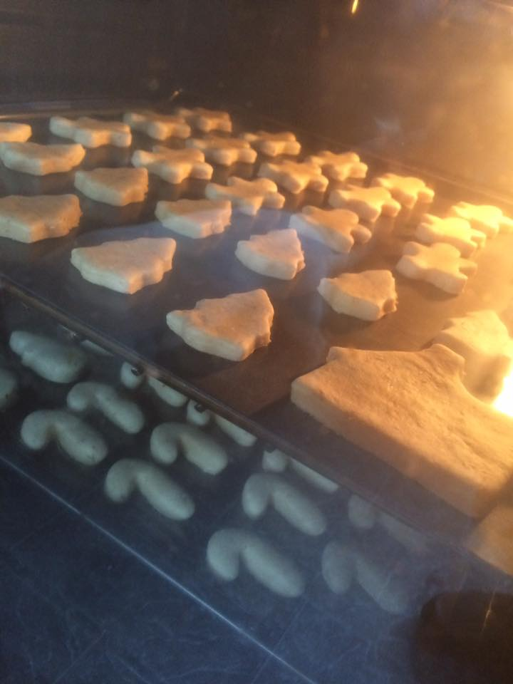 Treats in the oven