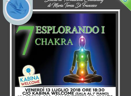 Workshop Gratuito:  Esplorando i 7 Chakra