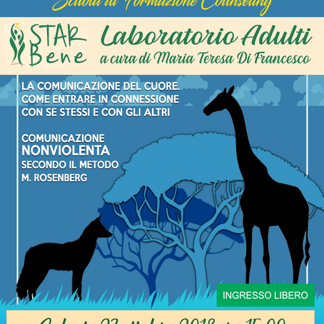 [STAR Bene] LABORATORI  #ADULTI