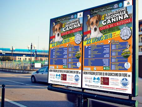 IV Esposizione Regionale Canina, Crotone - domenica 22 Luglio 2018