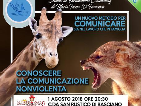 Workshop Gratuito: Conoscere la Comunicazione NonViolenta