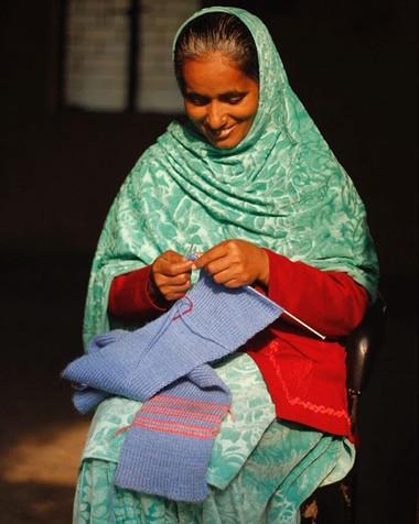 Meet our artisan Anjum Khala ❤️ Anjum Kh