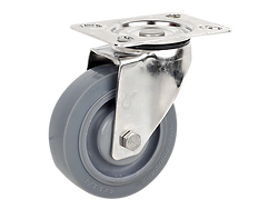 428a不銹鋼灰色TPR活動輪