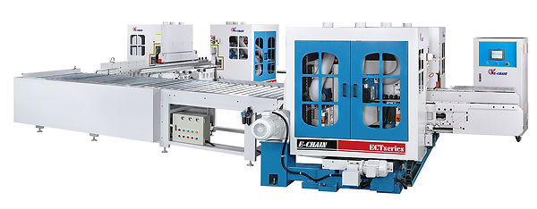 90度轉向(家具用機) 90° Cross-Transfer Line (For Furniture and Building Materials)