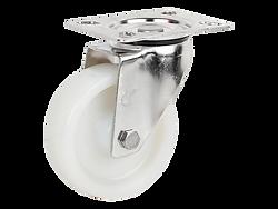 428a不銹鋼白色尼龍活動輪