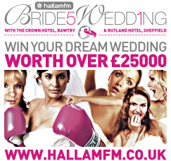 5 Brides 1 Wedding, with Hallam FM