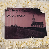 Our 150th Anniversary Cake - The Episcopal Church is goin' places!