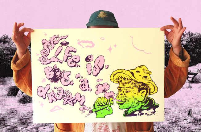 Stoned Ape (Theory) Print
