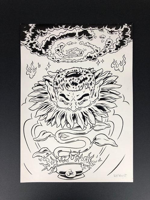 Sunflower Devil
