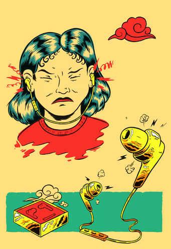 Het Parool, editorial illustration