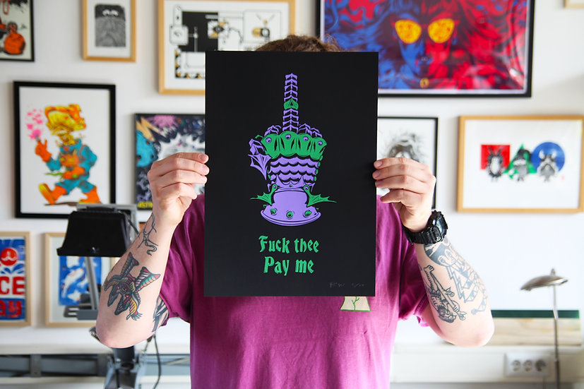 Fuck thee pay me (fantasy fuck limited colour variant)