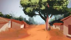 Background by Daniel Sgan Cohen