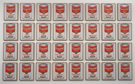 Andy Warhol Soup Cans MoMA