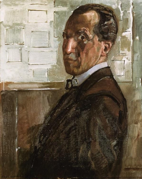Piet Mondrian Self Portrait
