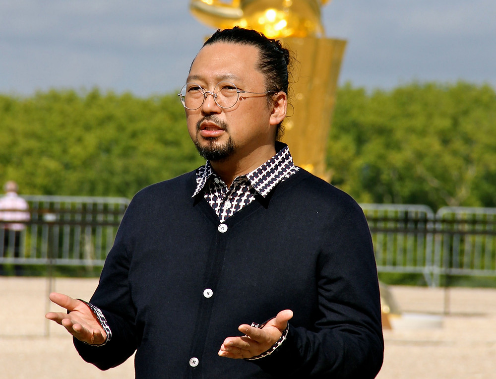 Takashi Murakami Speaking at Versailles