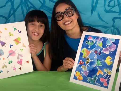 How to Make a Watercolor Moth Painting inspired by Allyson Reynolds
