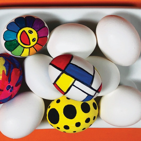 How to Paint Easter Eggs In The Style of Famous Artists