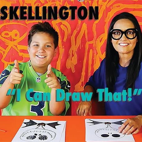 How to Draw Jack Skellington!