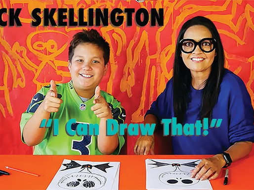 How to Draw Jack Skellington!